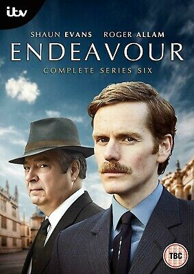 Endeavour Series 6 Complete DVD Region 2 New & Sealed **Fast Dispatch**