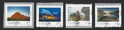 "Canada 2019 Scenery ""Far And Wide"" Self Adhesive Coil Definitives Fine Used"