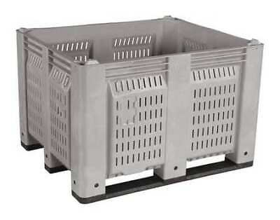 """DECADE PRODUCTS M40PGY2 Bulk Container, Gray, 45""""L"""