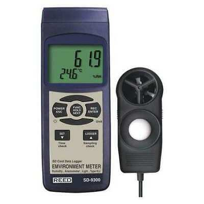 REED INSTRUMENTS SD-9300 SD Series Environmental Meter, Datalogger (Air