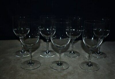 "Mint! Baccarat ""Perfection"" Claret Wine Glasses, Blown Crystal - Set Of 7"