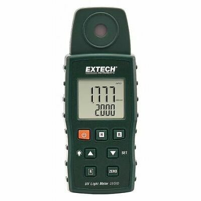 EXTECH UV510 Ultra Violet Light Meter,Backlit LCD