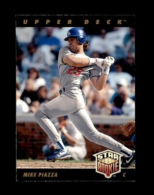 1993 Upper Deck Set Break #2 Mike Piazza EX-EXMINT *GMCARDS*
