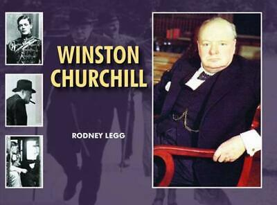 Winston Churchill by Rodney Legg, Acceptable Used Book (Hardcover) Fast & FREE D