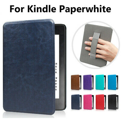 Slim Leather Case Magnetic Cover For Amazon Kindle Paperwhite 1/2/3/4 2018