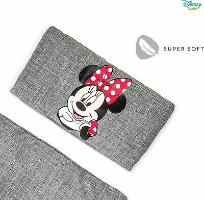 Hauck DISNEY ALPHA HIGHCHAIR PAD DELUXE - MINNIE MOUSE GREY Booster Seat BN