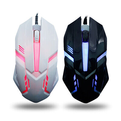 HOT LED luminous mouse for PC Laptop Computer Wired Computer Mouse For Gaming