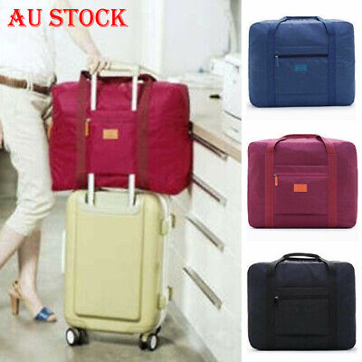 Packable Travel Duffle Bag Waterproof Nylon Foldable Carry-on Package Portable