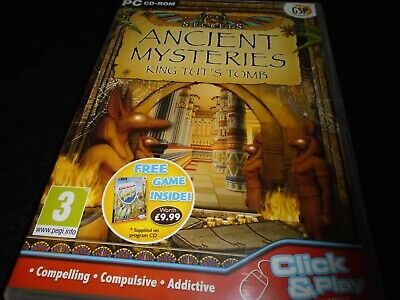 Ancient Mysteries - King Tut's Tomb  PC  game  hidden object