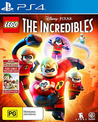 Lego Incredibles for Sony Playstation 4 PS4 - Brand New - Sealed - Free Post
