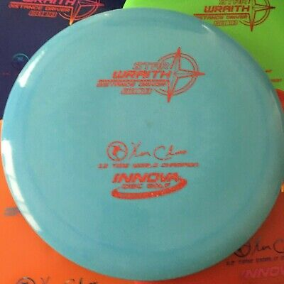 INNOVA Max Weight Star Wraith Disc Golf Distance Driver Pick Your Color & Stamp!