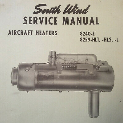 14 SOUTHWIND AIRCRAFT HEATERS SERVICE MANUALS
