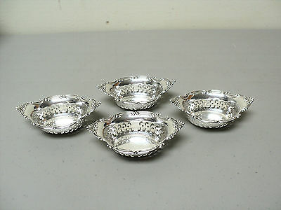 Set/4 Vintage Gorham CROMWELL Sterling Silver Nut Dishes, #A4780
