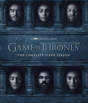 Game of Thrones: The Complete 6th Season (Blu-ray Disc 2016 4-Disc Set)