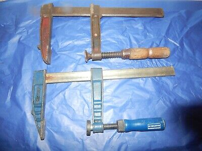 Two 12 inch F Clamps.One is By Richa.