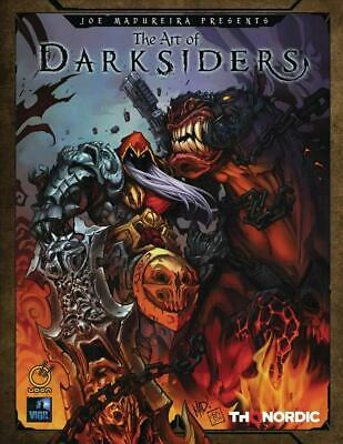 Art of Darksiders by Thq Hardcover Book Free Shipping!