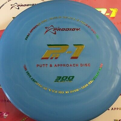 PRODIGY DISCS 300 Plastic Pa1 Disc Golf Putter *Pick Your Color/Stamp/Weight*!!