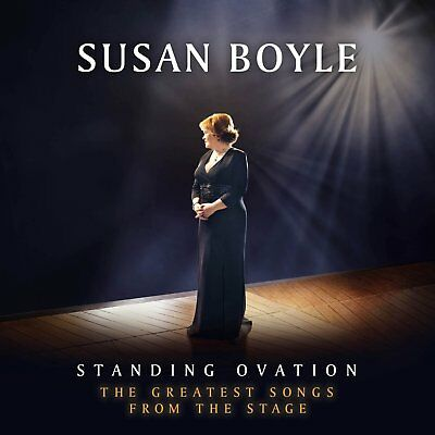 Susan Boyle Standing Ovation The Greatest Songs From The Stage Cd 2012 Brand New