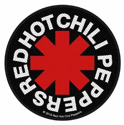 RED HOT CHILI PEPPERS - Patch Aufnäher Asterisk 9,5 x 9,5cm