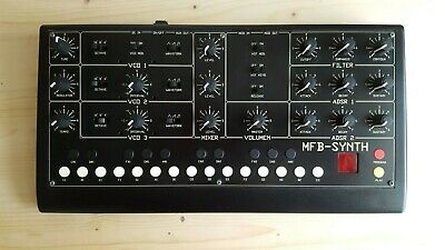 MFB SYNTH(3 VCO's, Sequencer), Analog Vintage Synthesizer