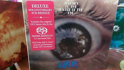 NEKTAR Journey to the Centre of the Eye CD DELUXE 3 disc(5.1 Surround Mix) Kraut