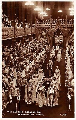 C20-6640, The Queen's Procession, Westminister Abbey.