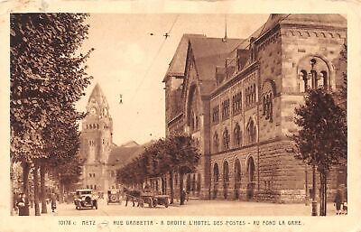 C20-6751, Street View Of A Hotel And Clock Tower, .