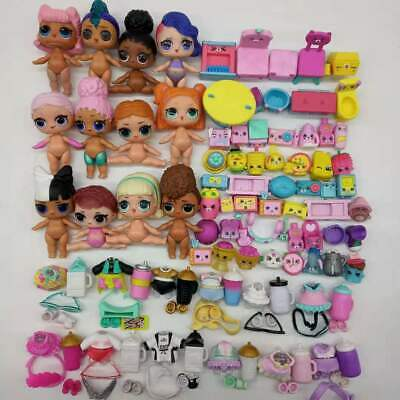 LOL Surprise Dolls punk boi unicorn series 3 big sis fancy playset diy toys gift