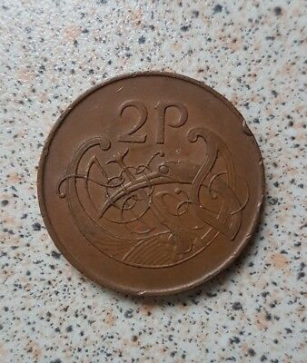 1971 Irish IRELAND EIRE 2 P Two Pence Coin