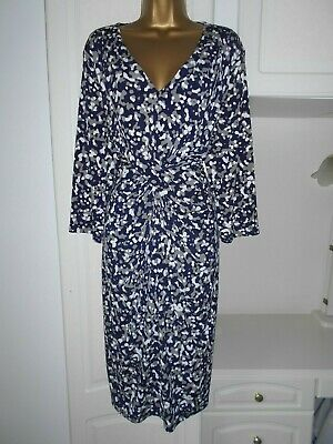 Smart Lined Dress With Stretch By Windsmoor In Vg Con Size Uk 24 Bust 50-52""