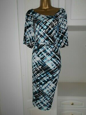 Smart Lined Dress With Stretch By Anthology Nwt Size Uk 24 Bust 50""