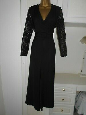Smart  Ankle Length Jumpsuit By M&S In Vg Con Size Uk 16 Bust 42""