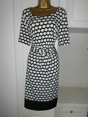 Smart Unlined Dress With Stretch By South In Vg Con Size Uk 16 Bust 42""