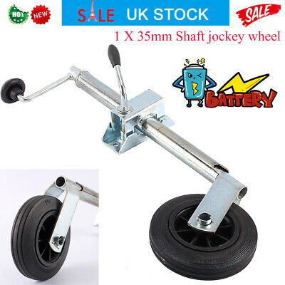 Trailer Jockey Wheel 35mmClamp Trailer Tyre for Trailers Caravan Most Couplings