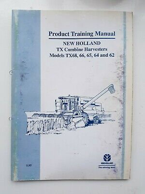 New Holland Tx Series Combine Product Training Manual 1995