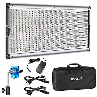 Neewer Dimmable LED Video Light Photography Lighting for Studio Video Shooting