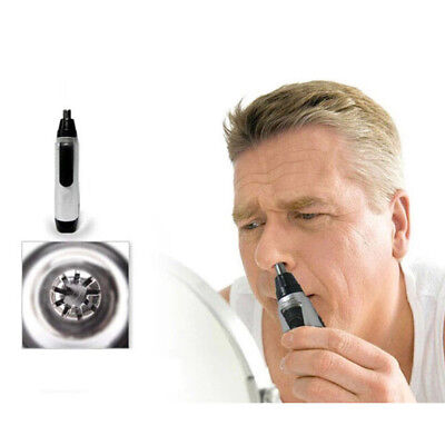 Electric Nose Ear Hair and Shaver Cleaner Trimmer Waterproof Shaver Clipper Mens