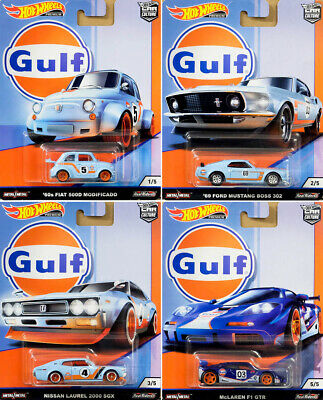 Nissan Laurel 2000 SGX GULF Racing #4 **RR** Hot Wheels Car Culture 1:64 OVP