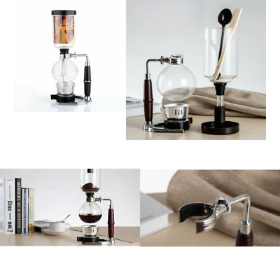 DecentGadget® Coffee Syphon / Vacuum Glass Coffee Maker 5 Cup