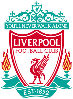 "Liverpool FC Logo Crest 2018 2019 Fridge Magnet size 70x100mm 2.8"" x 4"""