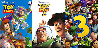 Pixar Toy Story 1-3 Complete Collection DVD 2010 Disc Set Box Set Sealed