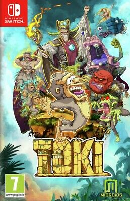 Toki (Switch) BRAND NEW AND SEALED - IN STOCK - QUICK DISPATCH - FREE UK POSTAGE
