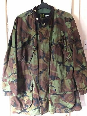 Vintage Military DPM Barbour Jacket