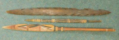 3X North Australian Aboriginal Ceremonial Spears Tiwi Islands Arnhem land?