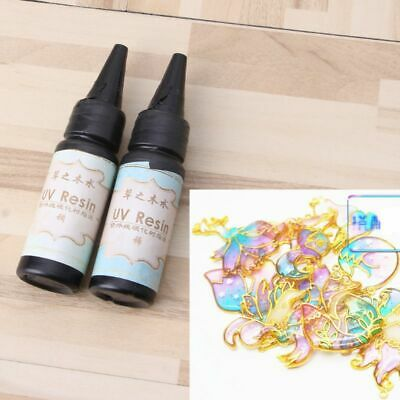 25g UV Resin Ultraviolet Transparent Curing Epoxy Resin Jewelry Making Hard Type