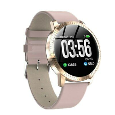 Smart Watch Waterproof Fitness Tracker Heart Rate Blood Pressure Tempered Mirror