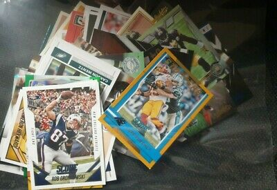 50  different american football   cards  lot 1