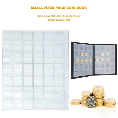 420Grids Coins Album Collection Book Mini Penny Folder Holder for Collector Gift