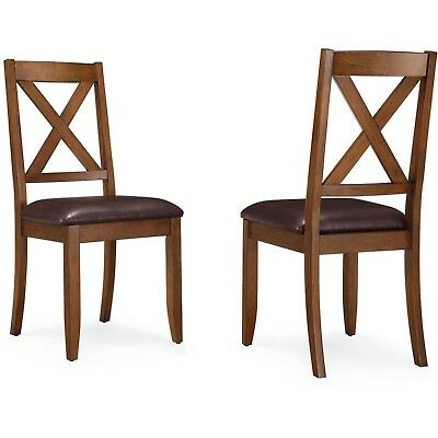 Dining Room Chairs 2 Set Kitchen Table Rustic Style Modern Home Furniture Decor