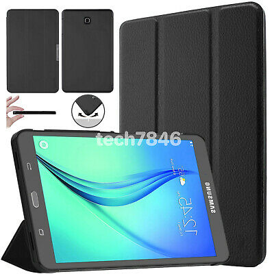 "For Samsung Galaxy Tab A 9.7"" T550 T555 Smart Flip Stand Hard Shell Case Cover"